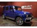 Mercedes-Benz G 63 AMG Brilliant Blue Metallic photo #10