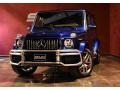 Mercedes-Benz G 63 AMG Brilliant Blue Metallic photo #11