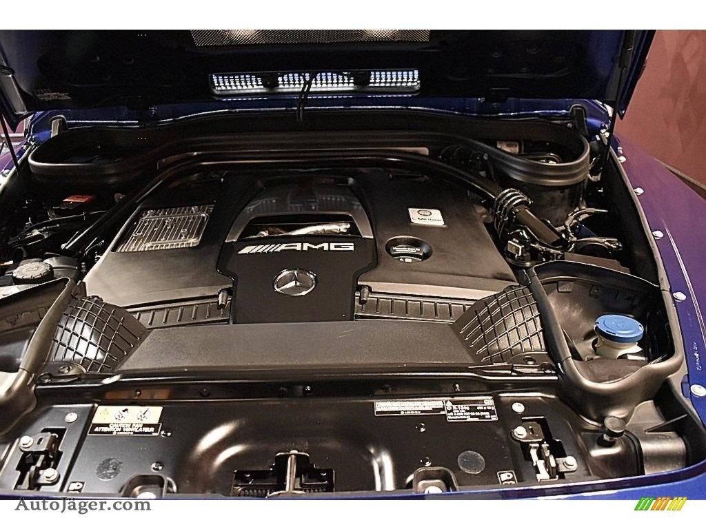 2020 G 63 AMG - Brilliant Blue Metallic / Black photo #26