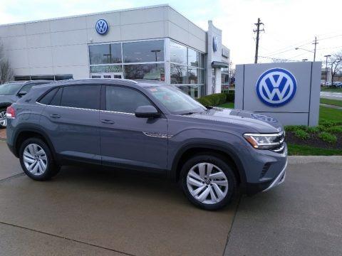 Pure Gray 2020 Volkswagen Atlas Cross Sport SE Technology 4Motion