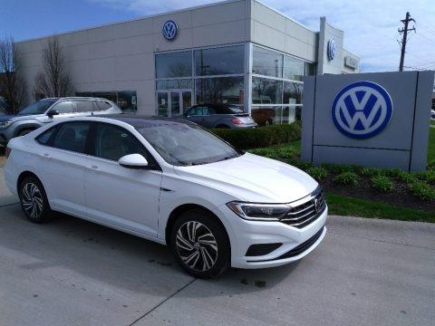 Pure White 2020 Volkswagen Jetta SEL