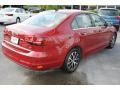 Volkswagen Jetta SE Cardinal Red Metallic photo #9