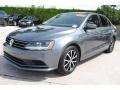 Volkswagen Jetta SE Platinum Gray Metallic photo #5