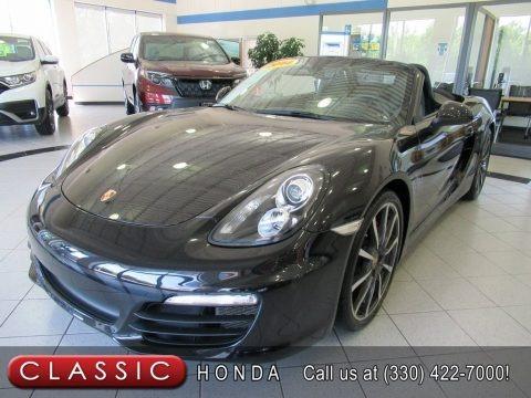 Basalt Black Metallic 2014 Porsche Boxster S