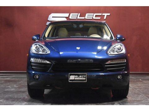 Dark Blue Metallic 2014 Porsche Cayenne S