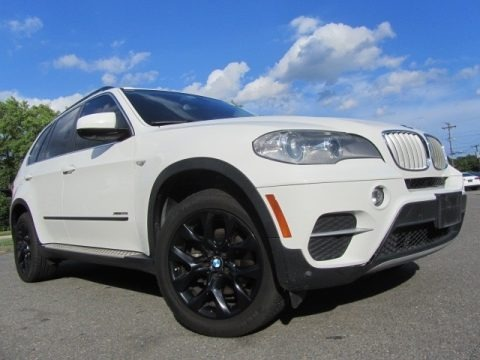 Alpine White 2013 BMW X5 xDrive 35i Premium