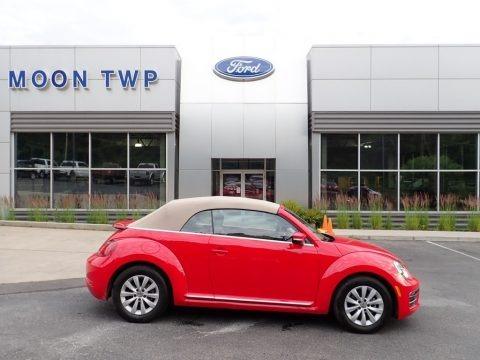 Tornado Red 2019 Volkswagen Beetle S