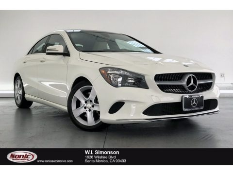 Cirrus White 2017 Mercedes-Benz CLA 250 Coupe