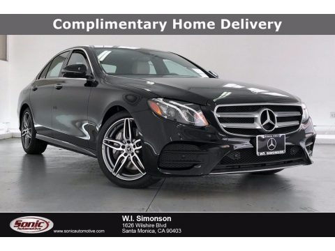 Black 2020 Mercedes-Benz E 350 Sedan