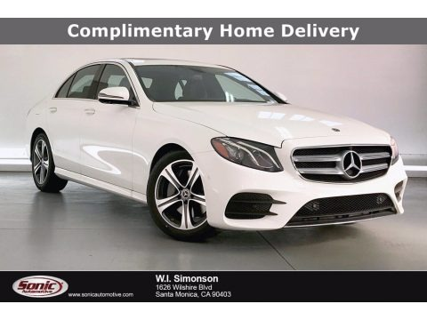 Polar White 2020 Mercedes-Benz E 350 Sedan