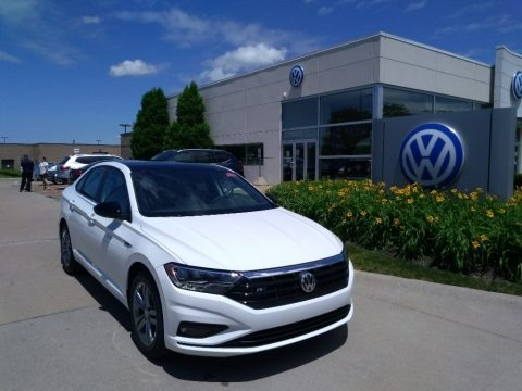 Pure White 2020 Volkswagen Jetta R-Line