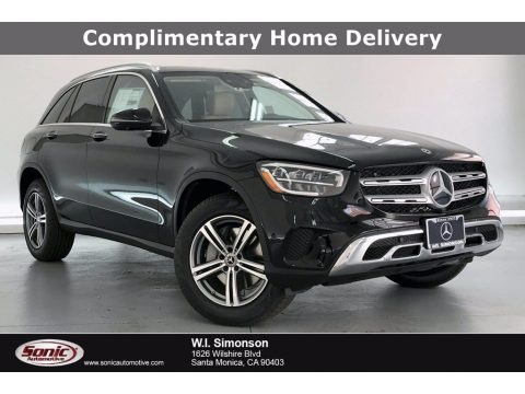 Black 2020 Mercedes-Benz GLC 300 4Matic