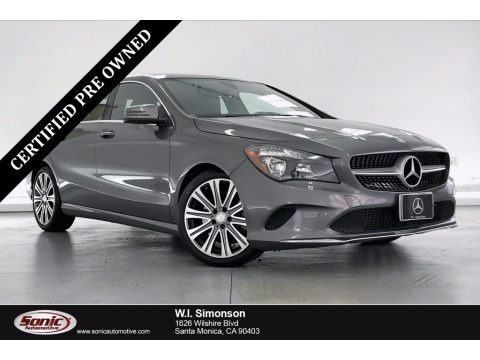 Mountain Grey Metallic 2017 Mercedes-Benz CLA 250 Coupe