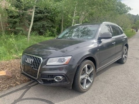Monsoon Gray Metallic 2016 Audi Q5 3.0 TFSI Premium Plus quattro