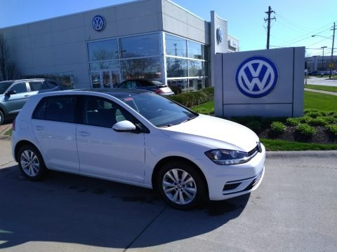 Pure White 2020 Volkswagen Golf 1.4T