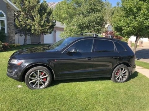 Brilliant Black 2016 Audi SQ5 Premium Plus 3.0 TFSI quattro