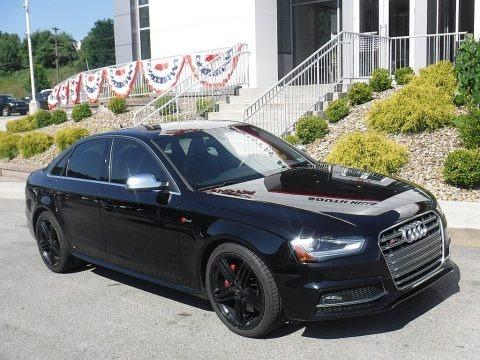 Brilliant Black 2014 Audi S4 Premium plus 3.0 TFSI quattro