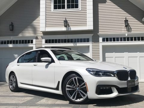 Mineral White Metallic 2016 BMW 7 Series 750i xDrive Sedan