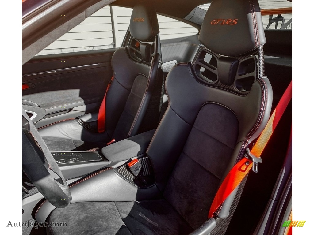 2016 911 GT3 RS - Lava Orange / Black/Lava Orange photo #6