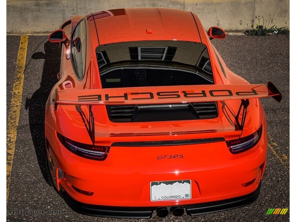 2016 911 GT3 RS - Lava Orange / Black/Lava Orange photo #11