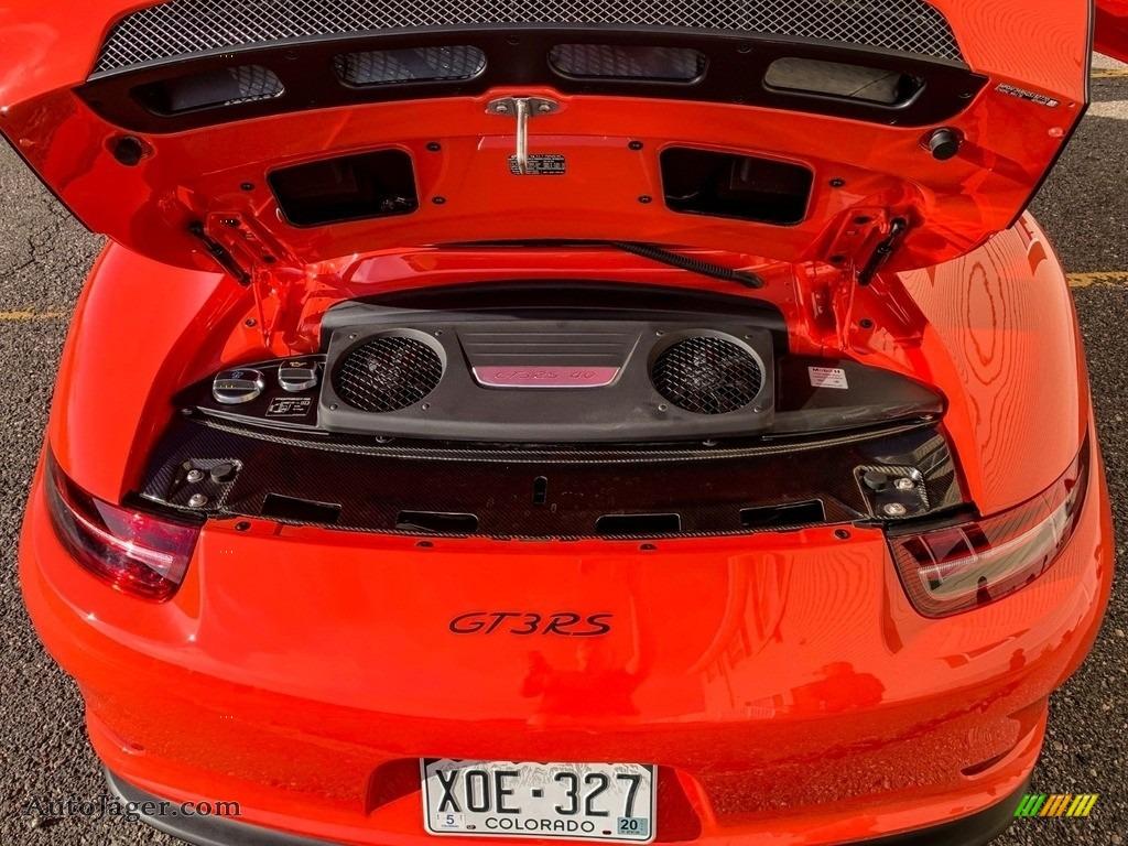 2016 911 GT3 RS - Lava Orange / Black/Lava Orange photo #12