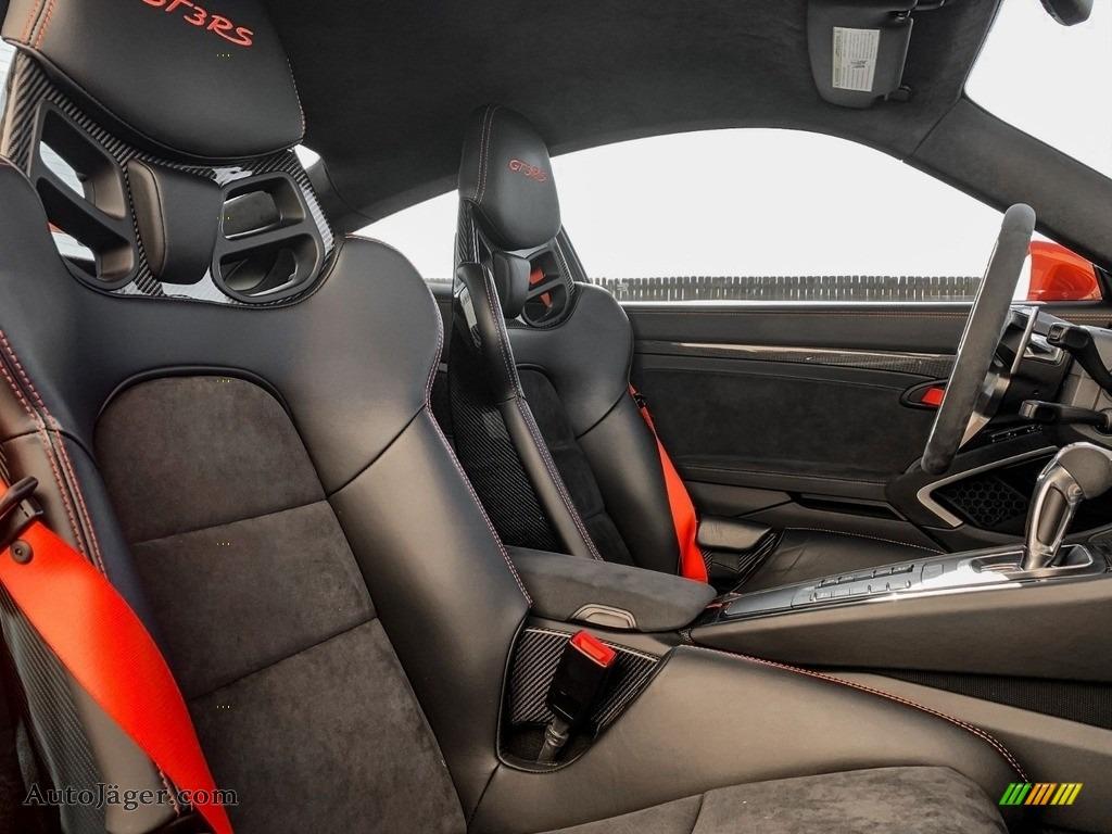 2016 911 GT3 RS - Lava Orange / Black/Lava Orange photo #14
