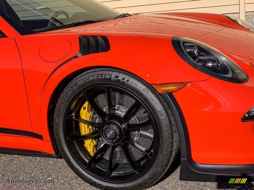 2016 911 GT3 RS - Lava Orange / Black/Lava Orange photo #15
