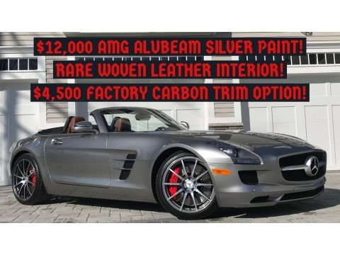 ALU-BEAM Metallic 2012 Mercedes-Benz SLS AMG Roadster