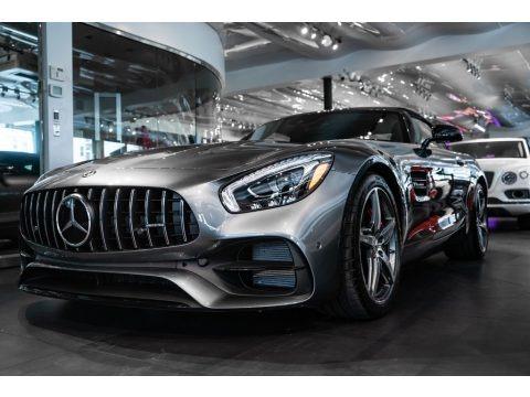 Selenite Grey Metallic 2019 Mercedes-Benz AMG GT Roadster