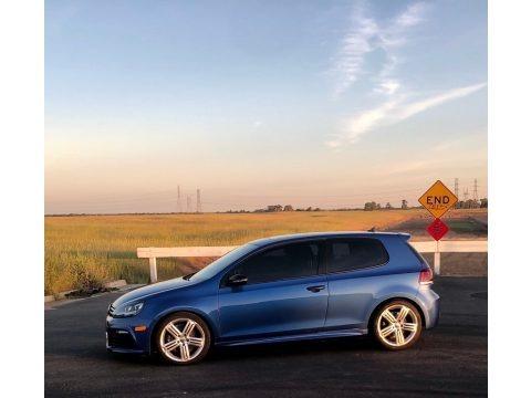 Rising Blue Metallic 2013 Volkswagen Golf R 2 Door 4Motion