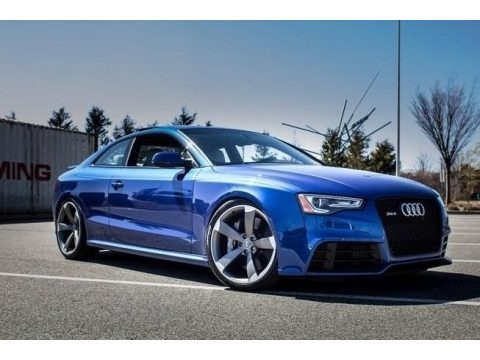 Sepang Blue Pearl 2015 Audi RS 5 Coupe quattro