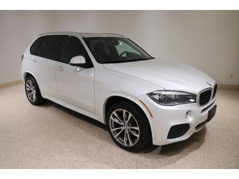 Mineral White Metallic 2017 BMW X5 xDrive35i