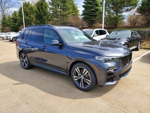 Arctic Grey Metallic 2020 BMW X7 xDrive40i