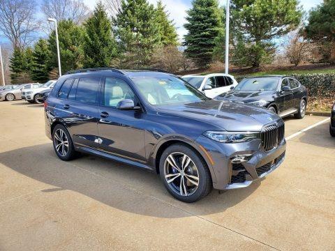Arctic Grey Metallic 2020 BMW X7 M50i