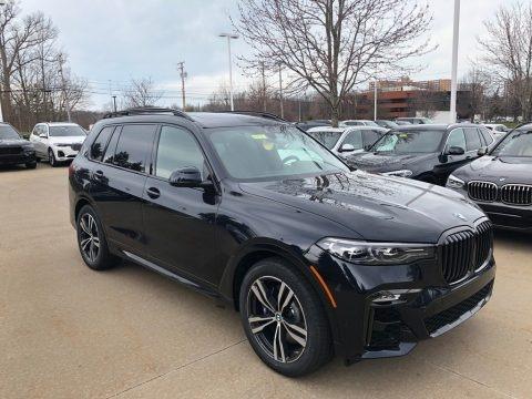 Carbon Black Metallic 2020 BMW X7 xDrive40i