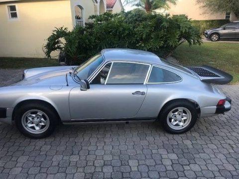 Silver Metallic 1977 Porsche 911 S Coupe