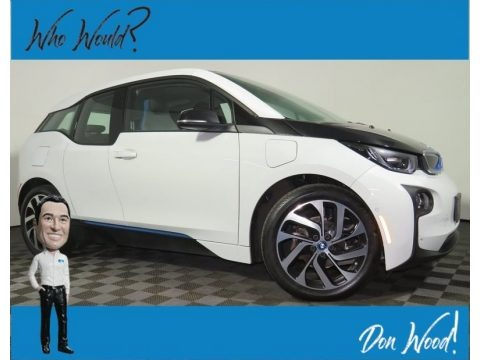 Capparis White 2017 BMW i3 with Range Extender