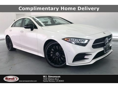 designo Diamond White Metallic 2020 Mercedes-Benz CLS 450 Coupe
