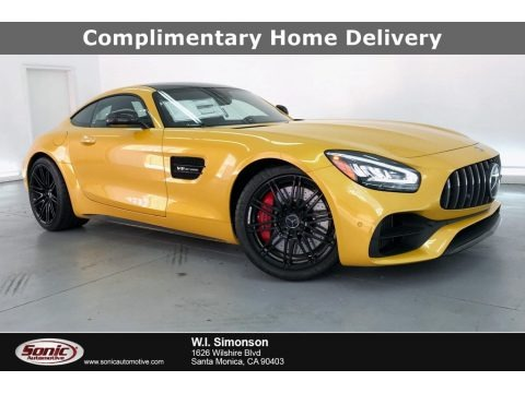 AMG Solarbeam Yellow Metallic 2020 Mercedes-Benz AMG GT C Coupe