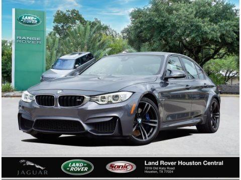 Mineral Grey Metallic 2016 BMW M3 Sedan