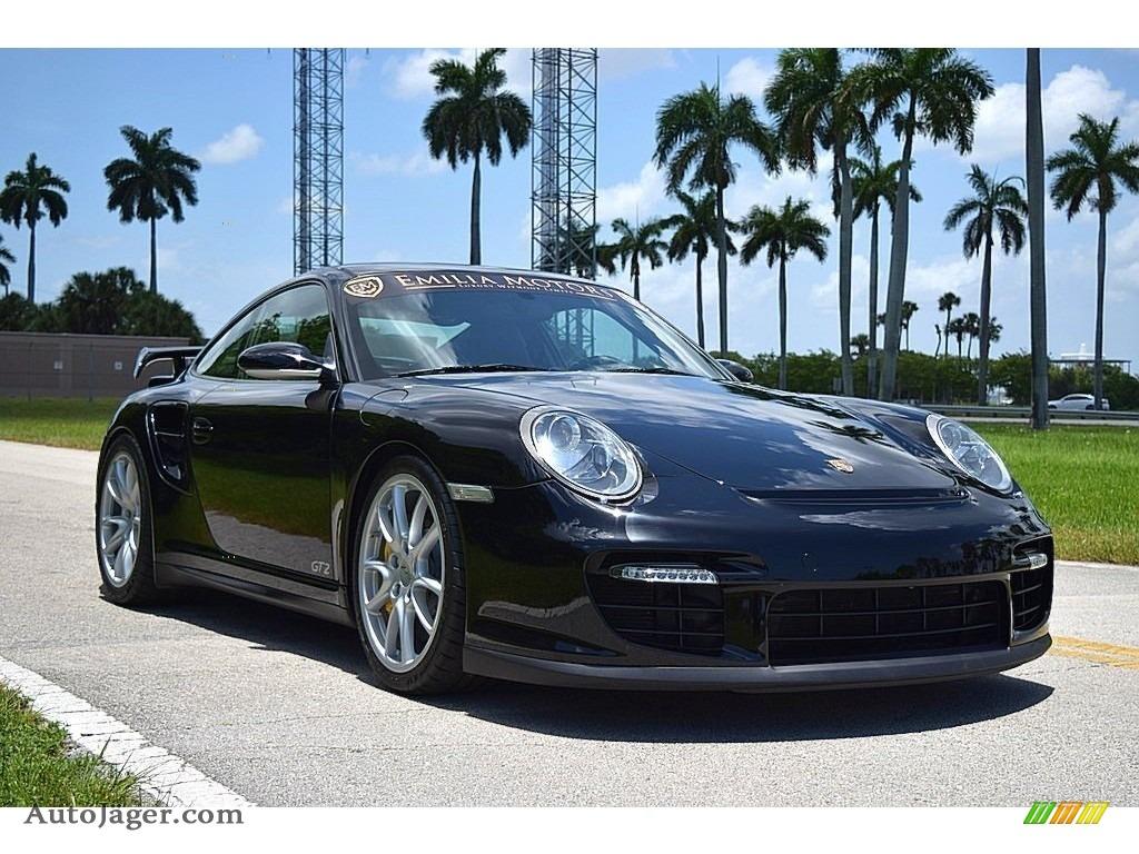 2008 911 GT2 - Black / Black photo #1
