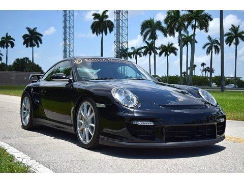 Black 2008 Porsche 911 GT2