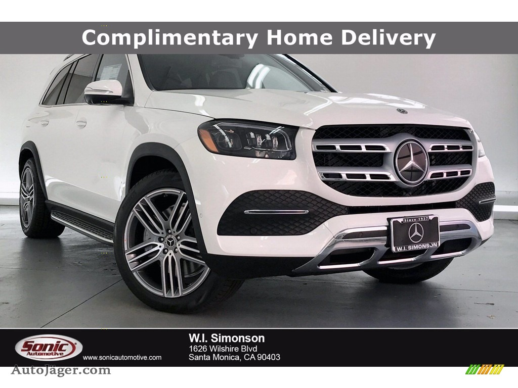 2020 GLS 450 4Matic - Polar White / Black photo #1