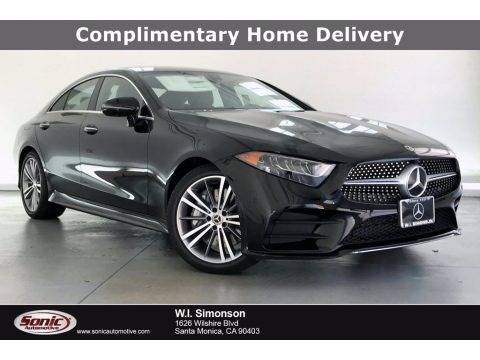Black 2020 Mercedes-Benz CLS 450 Coupe