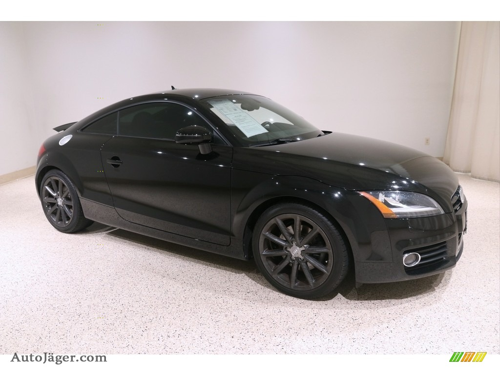 2012 TT 2.0T quattro Coupe - Brilliant Black / Black photo #1