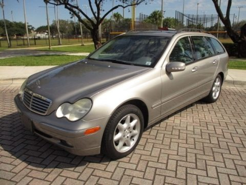 Pewter Silver Metallic 2003 Mercedes-Benz C 240 4Matic Wagon