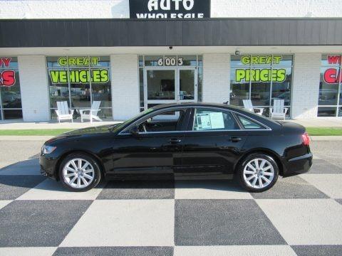 Brilliant Black 2013 Audi A6 2.0T Sedan