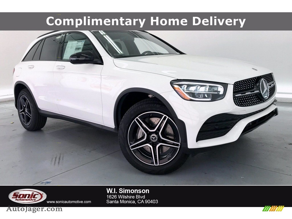 2020 GLC 300 - Polar White / Black photo #1