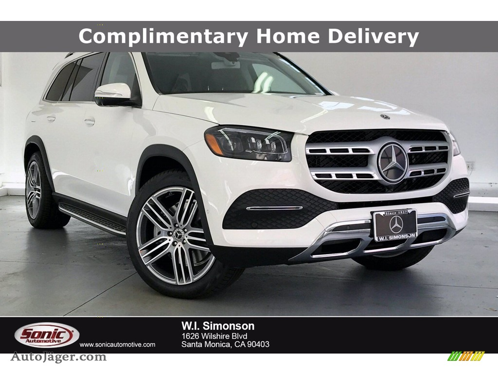 2020 GLS 450 4Matic - Polar White / Espresso Brown photo #1