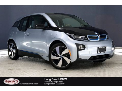 Ionic Silver Metallic 2017 BMW i3 with Range Extender